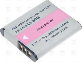 T6 power Baterie T6 power Li-50B D-Li92 DB-100