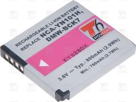 T6 power Baterie T6 power DMW-BCK7 DMW-BCK7E NCA-YN101H