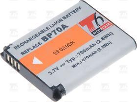 T6 power Baterie T6 power BP-70A SLB-70A BP70A